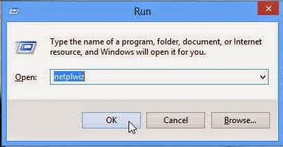 Cara Menghilangkan Log on Screen di Windows 8 / 8.1