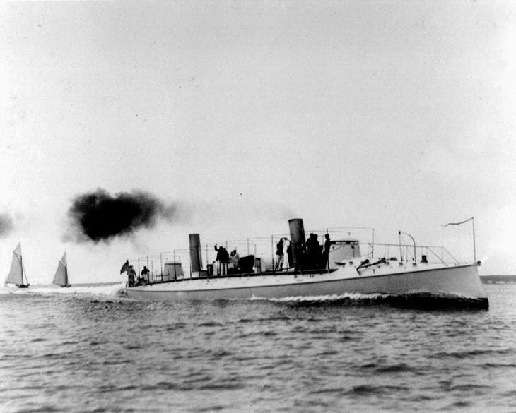 "Torpedo boat ""Cushing"""