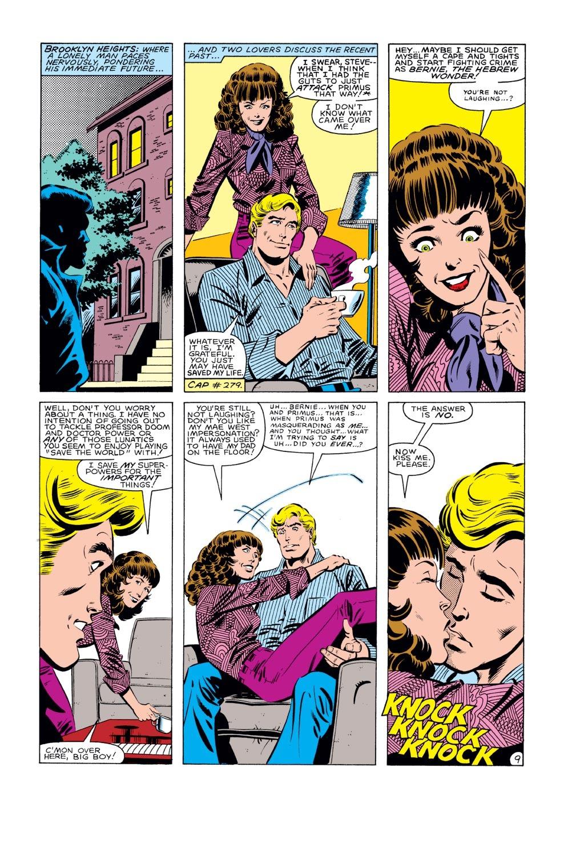 Captain America (1968) Issue #281 #197 - English 10