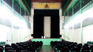 Interior do Teatro João Pessoa, em Rosário do Sul.