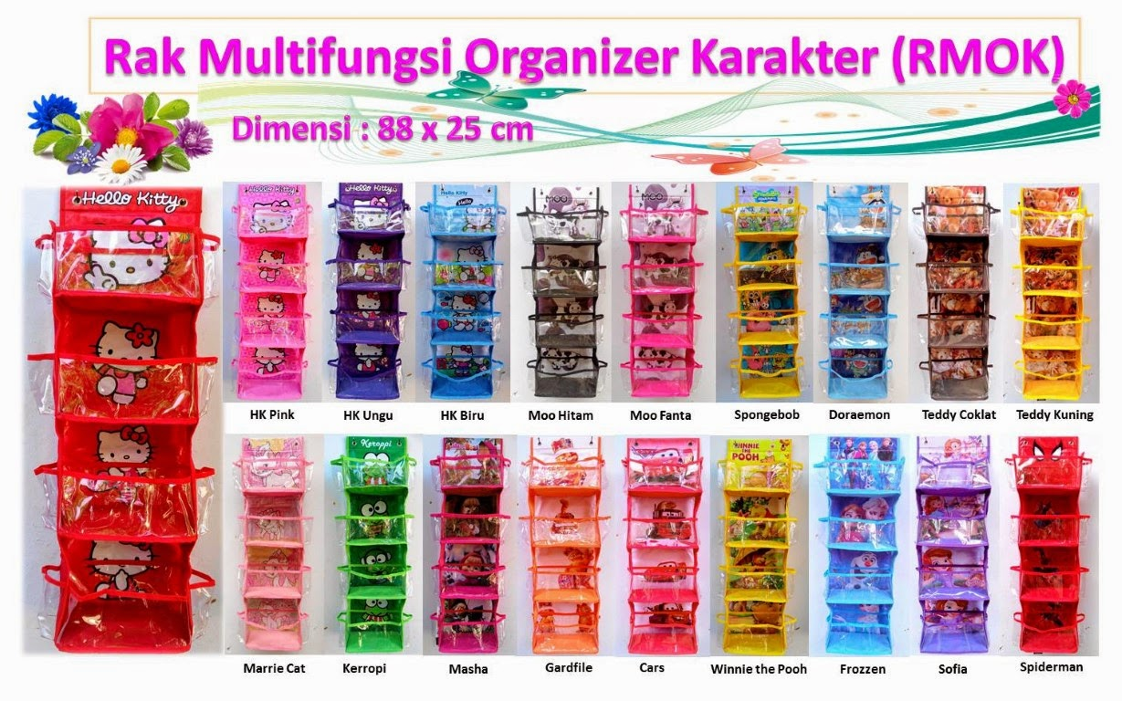 Rak Serbaguna / Rack Multifungsi Organizer Karakter