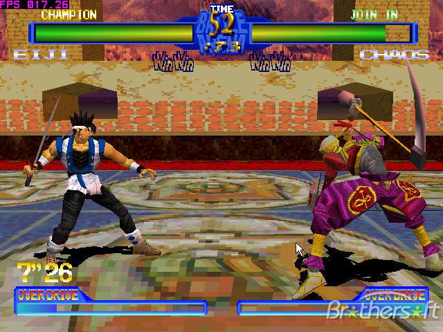 Game Battle Arena Toshinden 2