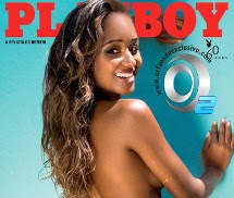 Gatas QB - Aline Prado Playboy Brasil Fevereiro 2014