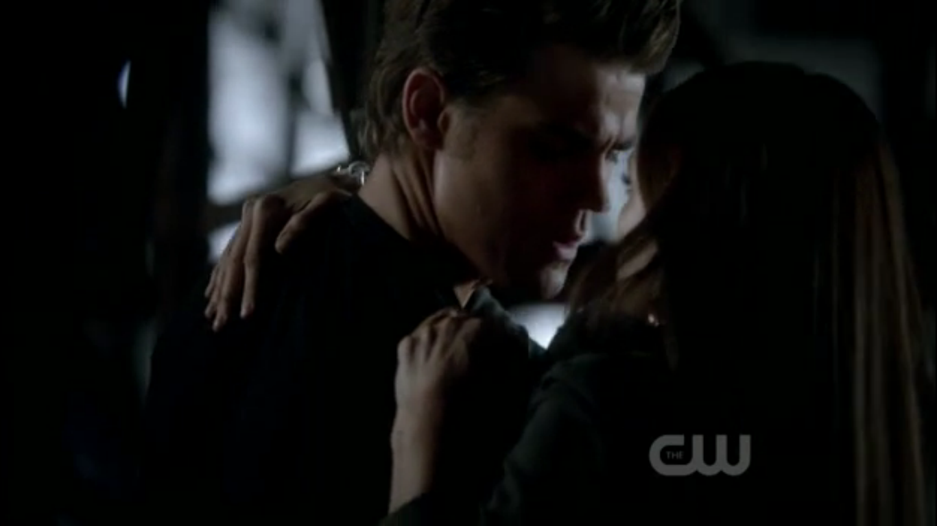 Stefan Saves Elena From Car Crash