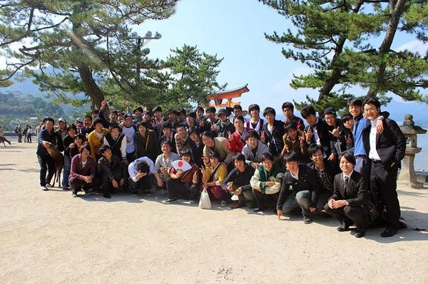 28期生 客船で行く宮島の旅