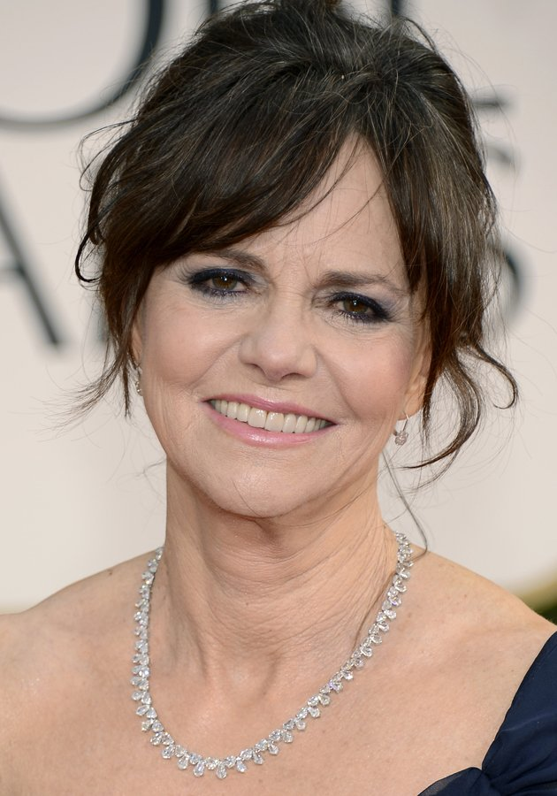 scalp braid hairstyles : Sally Field lifted her hair from the back and only a random story from ...