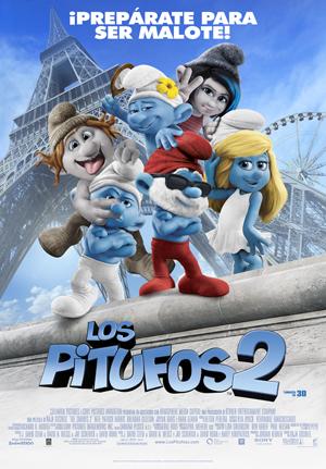 5 escenas de Los Pitufos 2