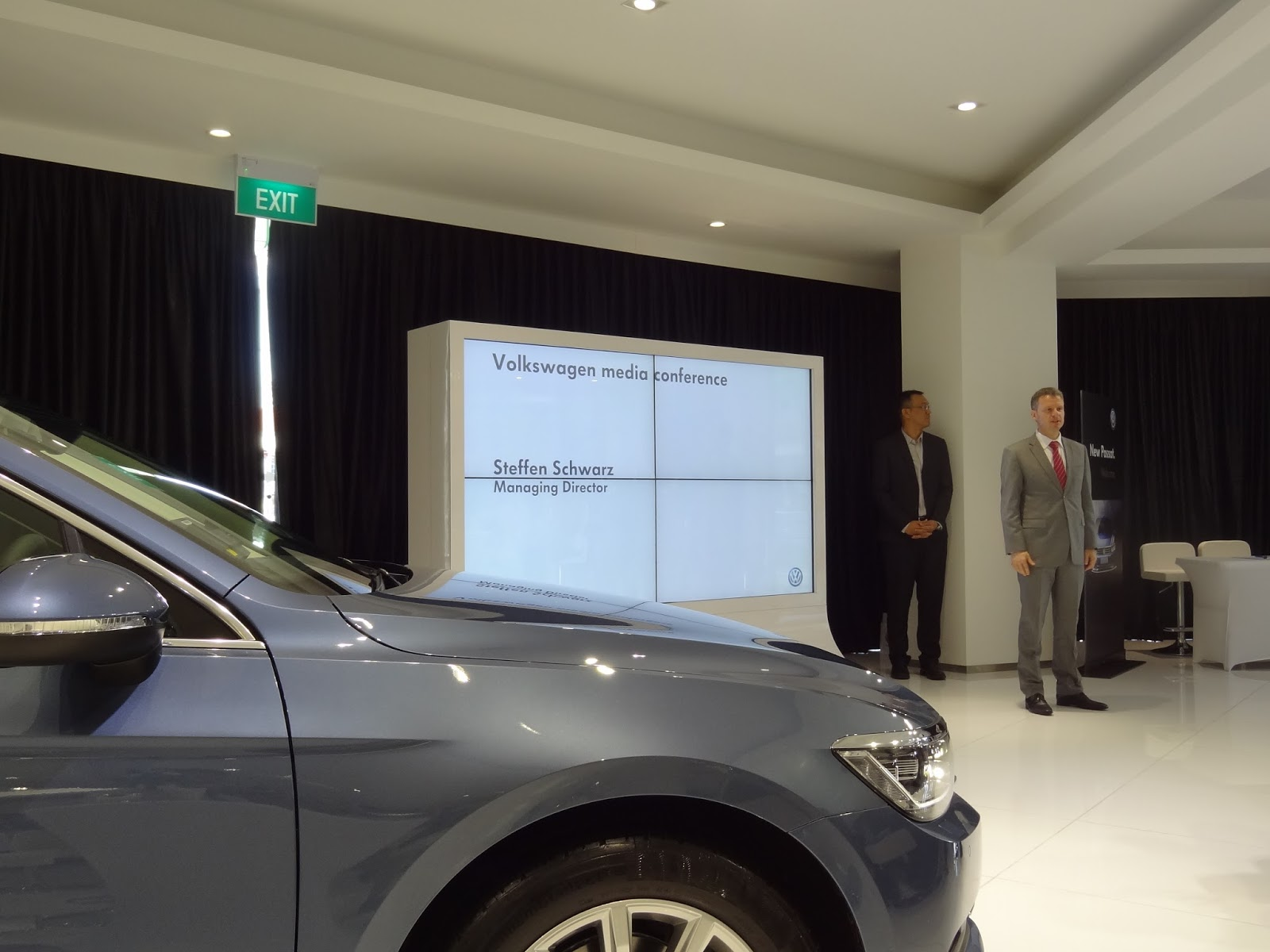 shaun owyeong all new volkswagen passat 2015 media launch. Black Bedroom Furniture Sets. Home Design Ideas