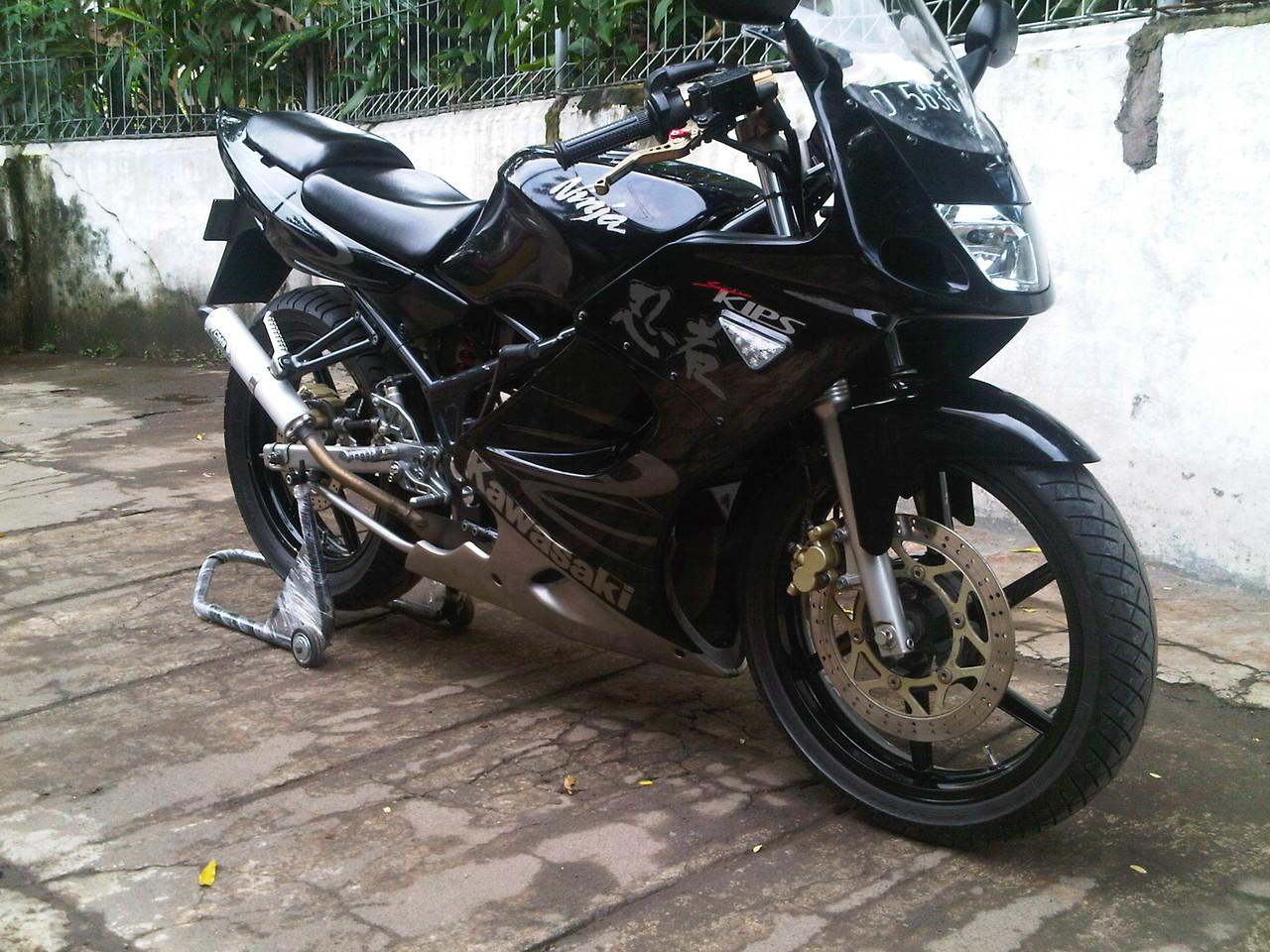 online motor: kawasaki ninja rr tahun 2013 harga rp 9,500,000