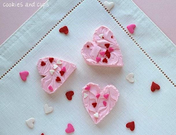 http://cookiesandcups.com/strawberry-2-ingredient-fudge/