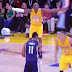 Kobe Bryant freaks out on Jeremy Lin for not fouling (Video)