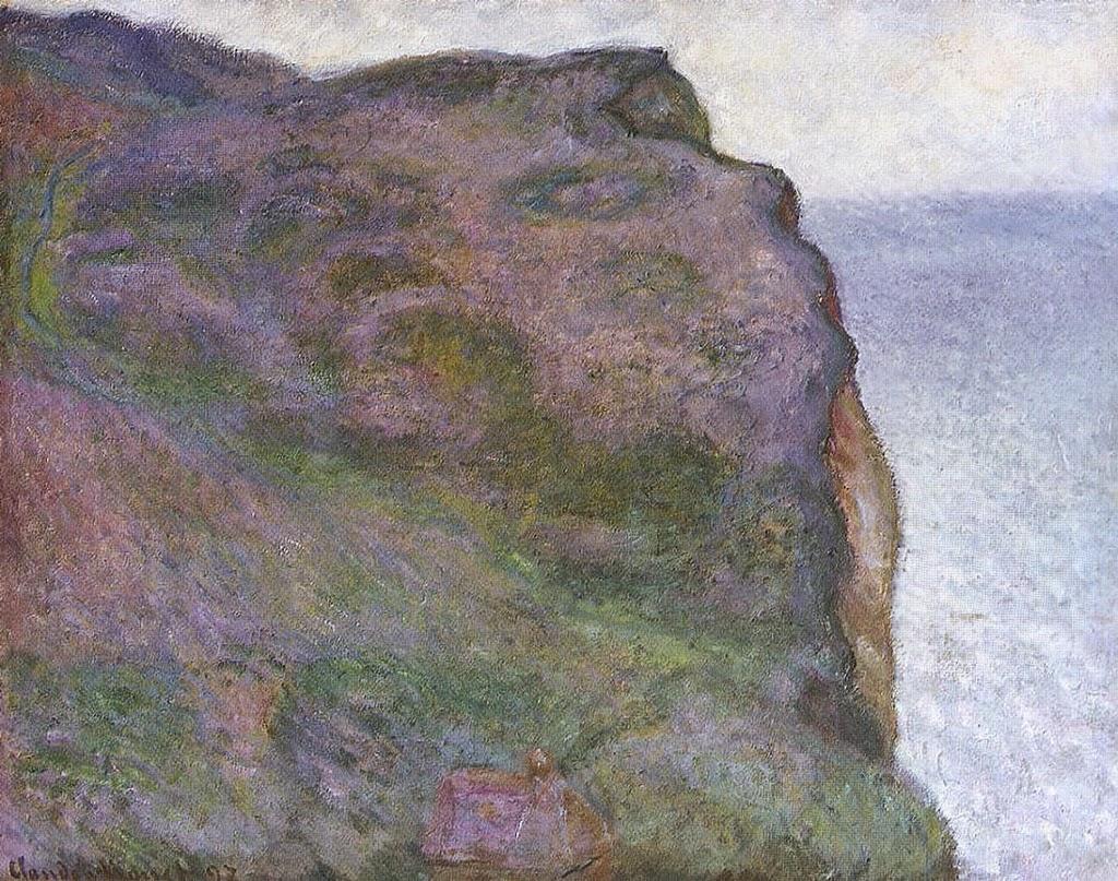Pointe du Petit Ailly, temps gris (1897)