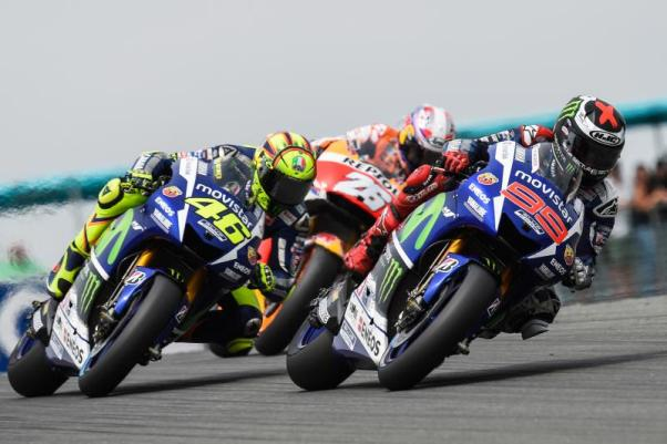 Head-to-Head Rossi vs Lorenzo
