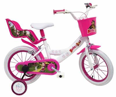TOYS : JUGUETES - MASHA Y EL OSO - Bicicleta | Infantil  2015 | Serie Television | Comprar en Amazon España