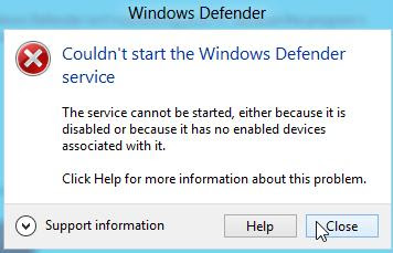 Setting Konfigurasi Windows Defender di Windows 8 step 7