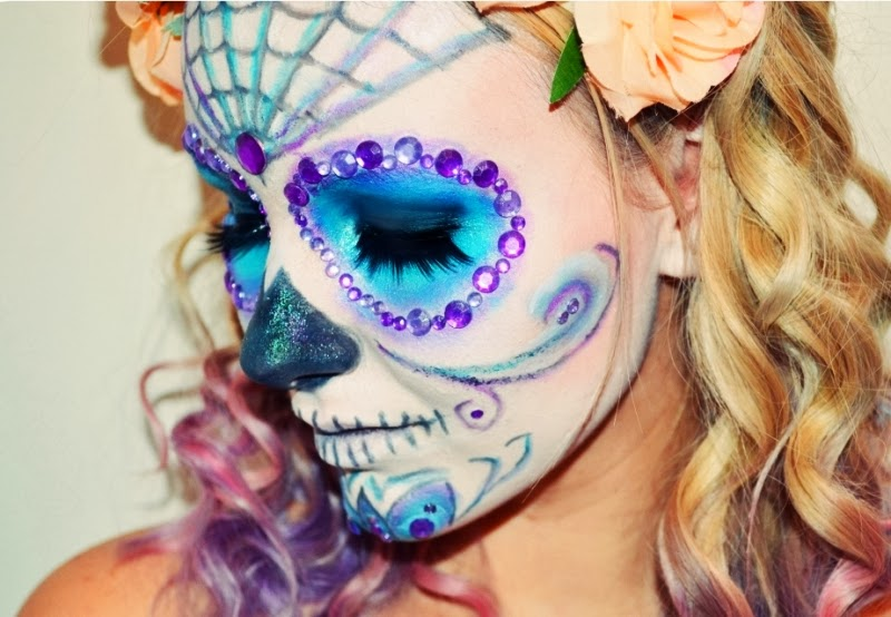 Halloween-MakeUp-Sugar-Skull