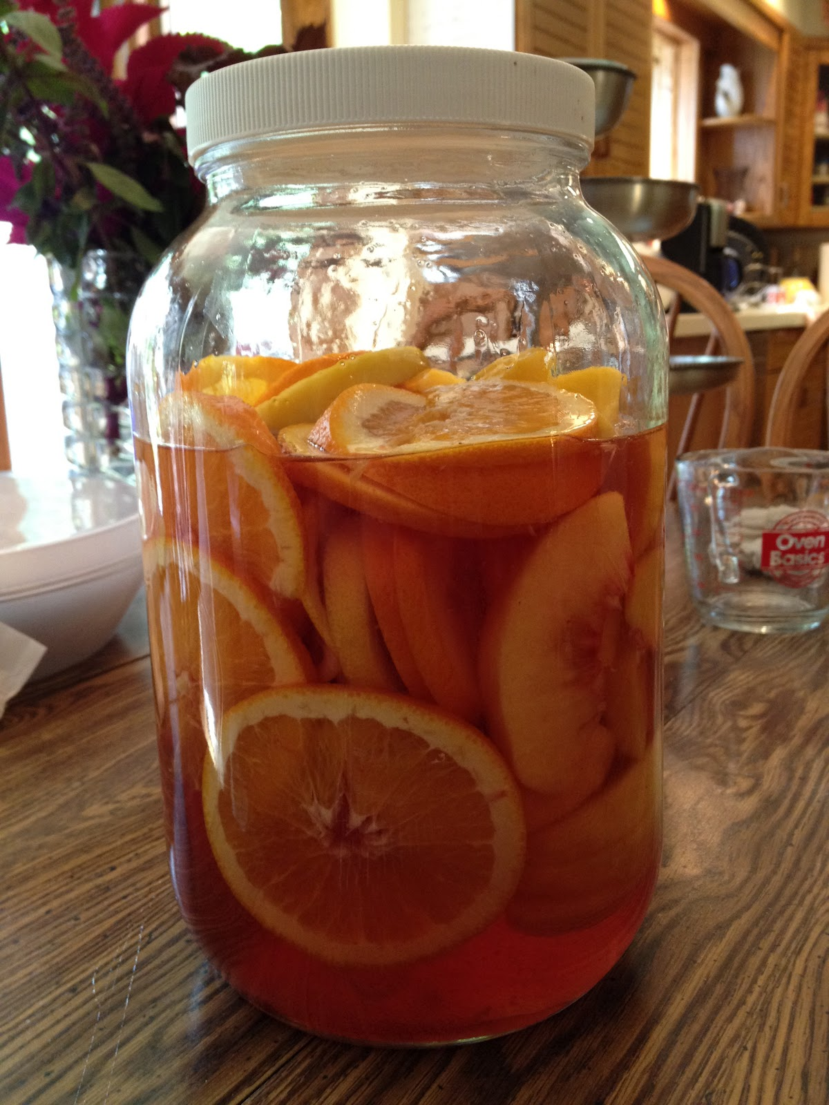 Delicious and Refreshing White Zinfandel Sangria | keep calm and carry ...