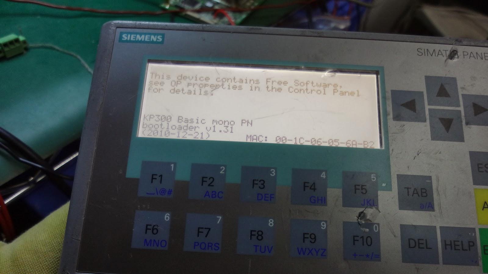 Bob Electronics Siemens 6av6647 0ah11 3ax0 Simatic Hmi