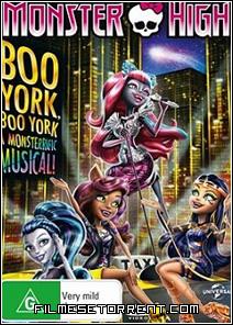Monster High - Boo York, Boo York Torrent Dublado