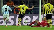 For Borussia DortmundLewandowski(40)Marco Reus(90+1)and Felipe . (lewandowski)