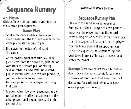 sequence rummy
