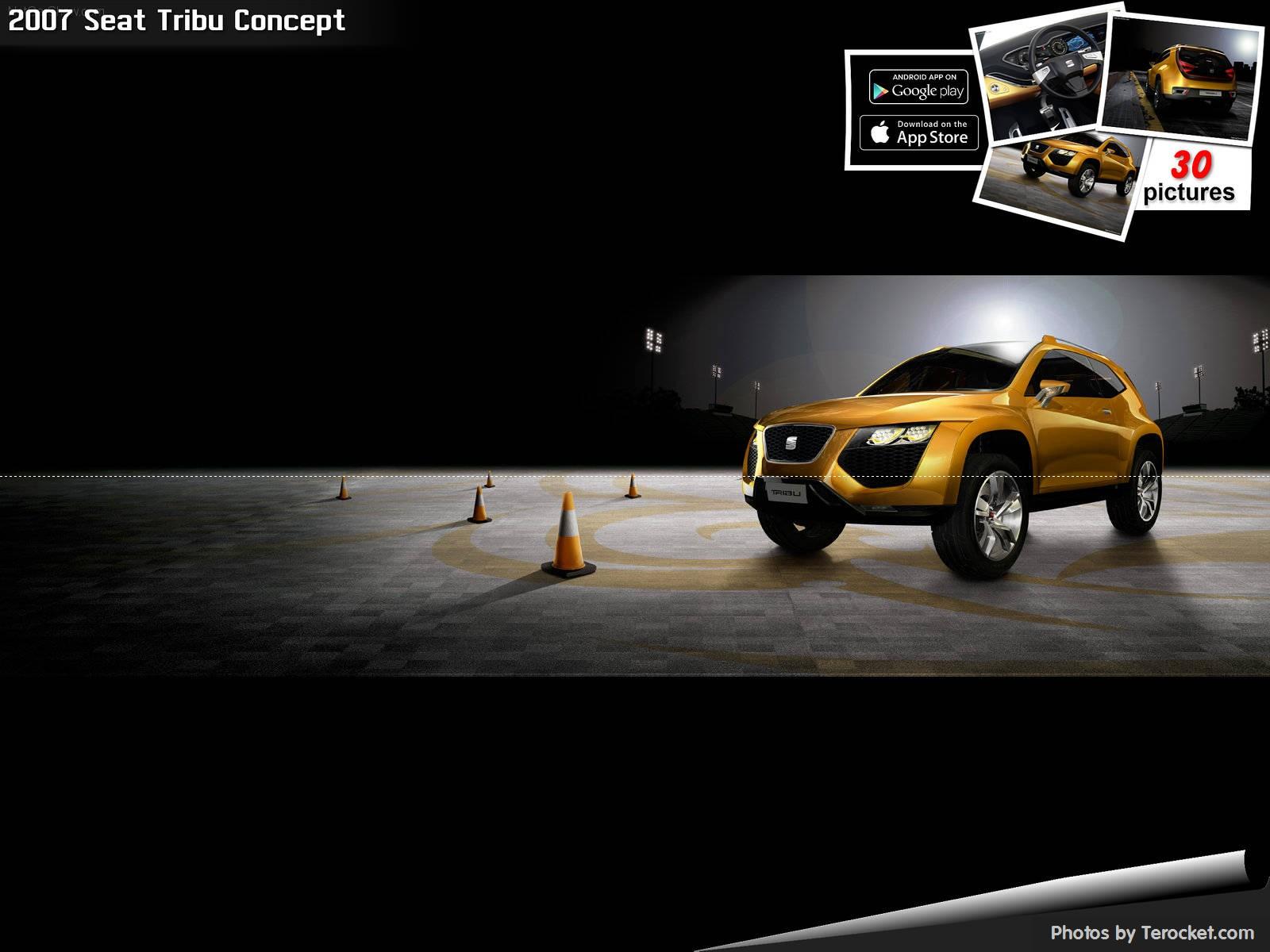 Hình ảnh xe ô tô Seat Tribu Concept 2007 & nội ngoại thất