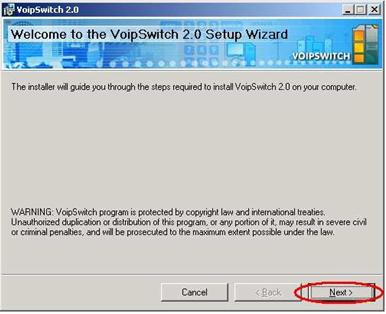 Hướng dẫn cài đặt hệ thống VoIP VoIPswitch