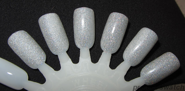 Nail Patter Boldness Glitter Food - test