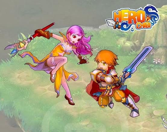 game thủ nữ từ nay đã có thêm một lựa chọn mới game mới Hero Chibi cực đáng yêu và phong cách trên kho game Zing Appstore