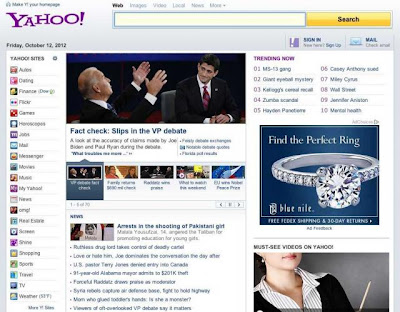 Yahoo Old Homepage