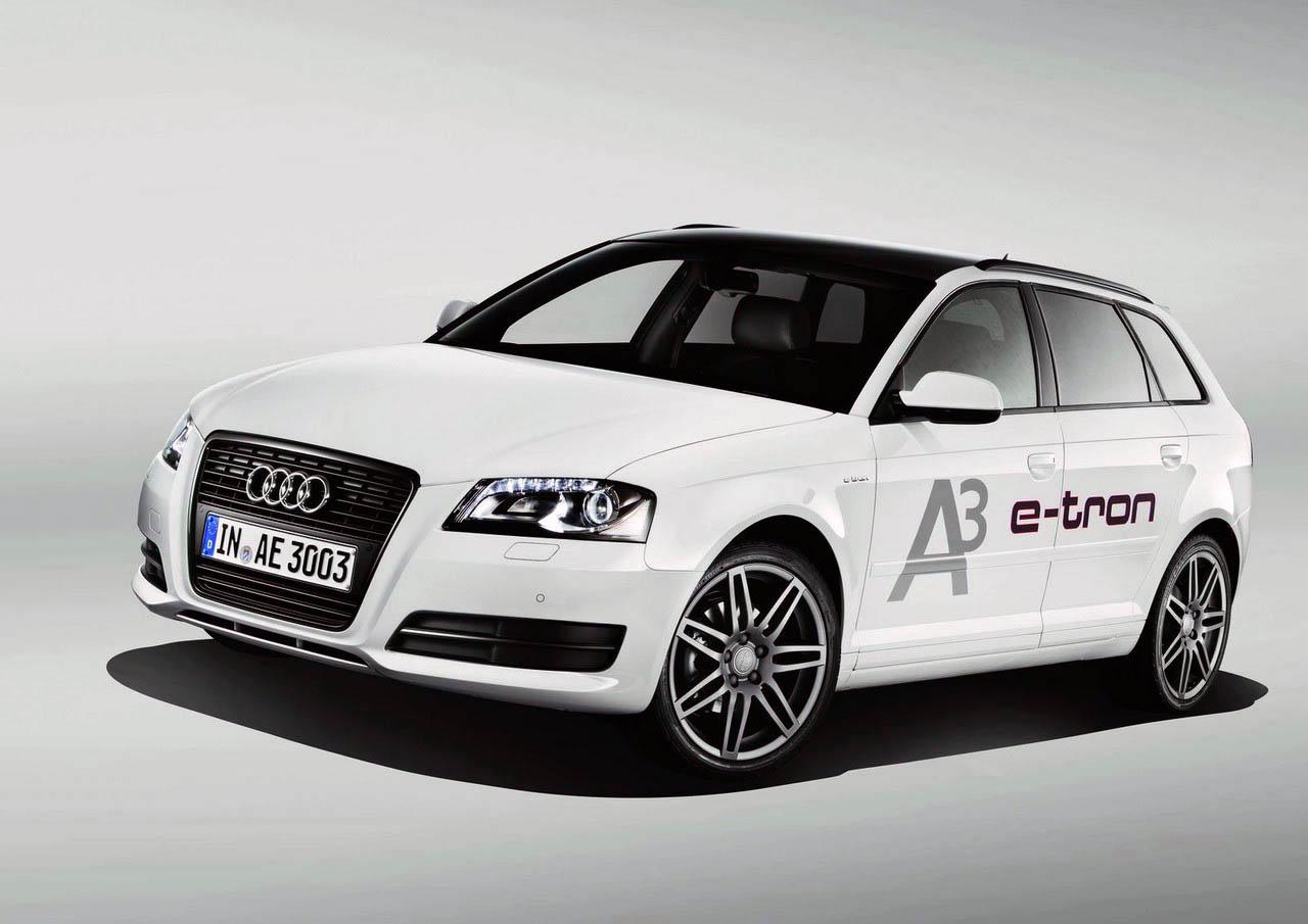 Audi A Etron Plugin Electric Wagon Concept Unveiled Electric - Audi a3 wagon