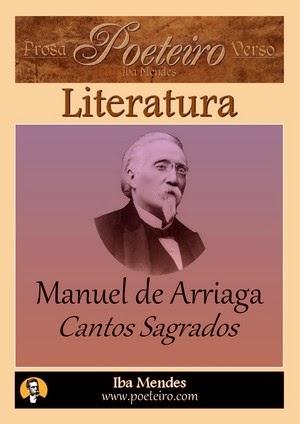 Cantos Sagrados, de Manuel de Arriaga (literatura em pdf grátis)