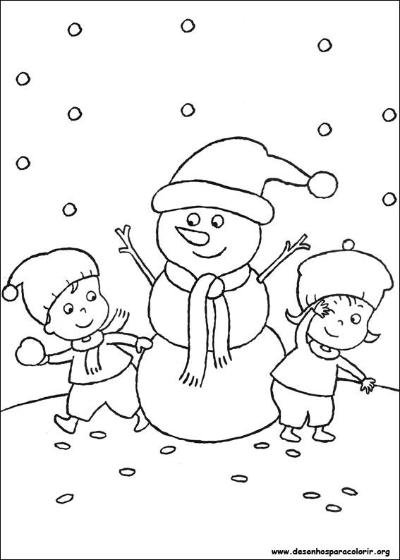 Desenhos Para Colori A verdadeira história do Natal  para copiar desenhar