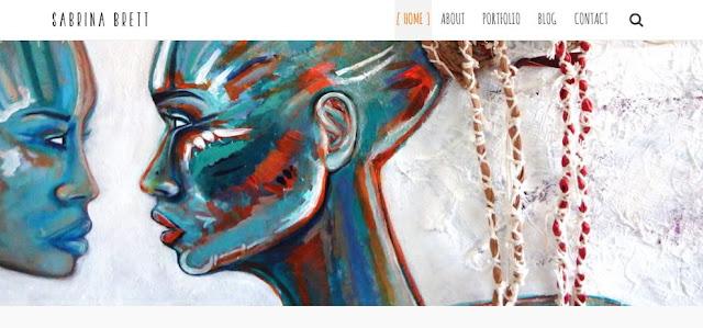 Website Launch Sabrina Brett