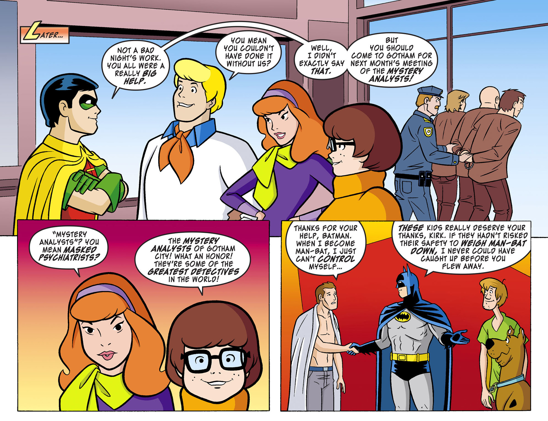 Read online Scooby-Doo! Team-Up comic -  Issue #2 - 21