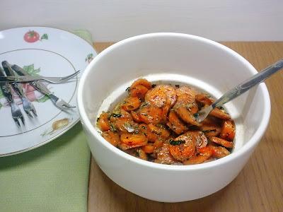 Zanahorias Aliñadas.