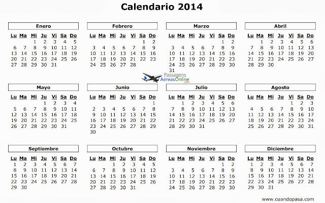 calendario-2014-viajar-comprar-passagens-melhor-data