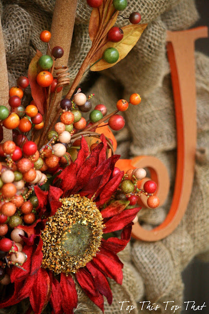 The Easiest Fall Burlap Wreath Tutorial Galerry Wallpaper