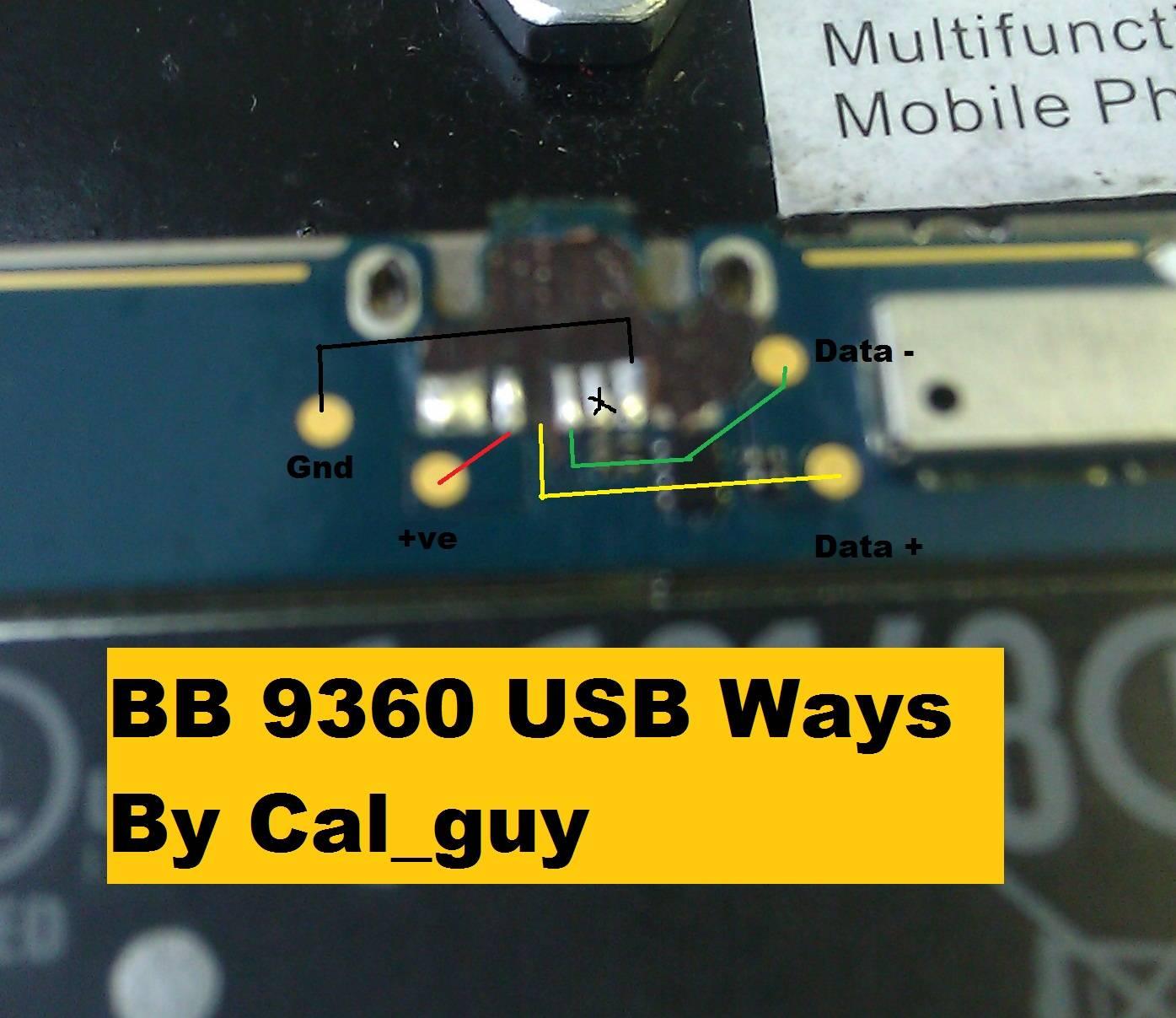 BlackBerry 9360 Chargingproblem Jumper Ways Solutions