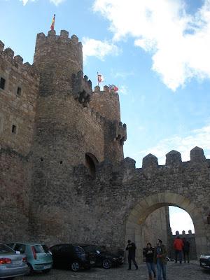 Castillo de Sigüenza, convertido en Parador.