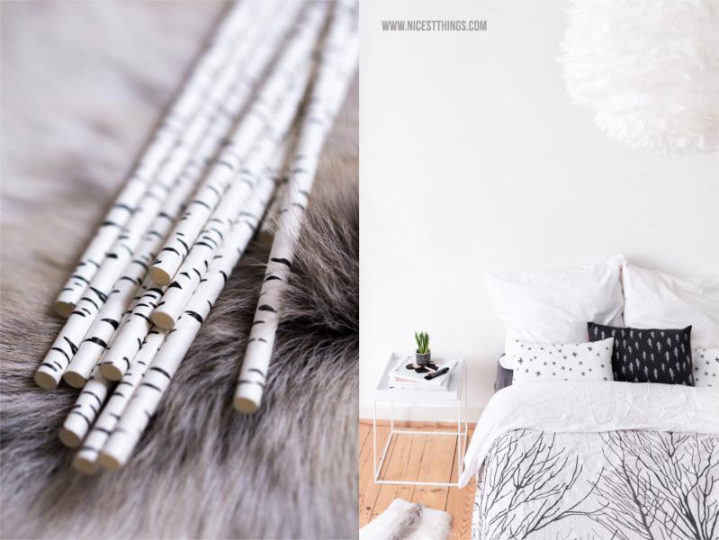 winter deko ideen chunky decke oversized strickdecke und rentierfell nicest things. Black Bedroom Furniture Sets. Home Design Ideas