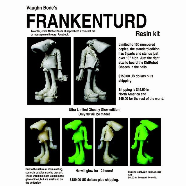 Frankenturd Resin Figure by Mark Bode and Michael Waltz