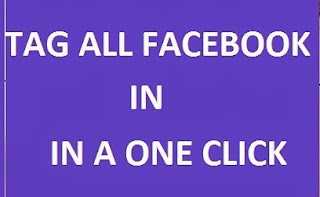 How to mention All Facebook Friends Using One Click image photo