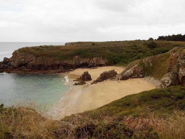 plage, l'anse des soux, mer, île d'yeu, vendée, bullelodie