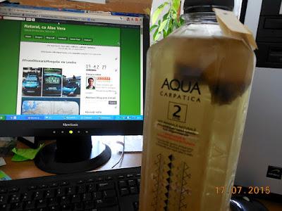 Aqua Carpatica si Aloe Blossom Herbal Tea