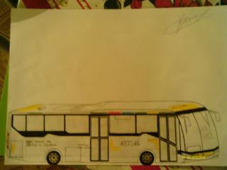 Ônibus (desenho) - 1