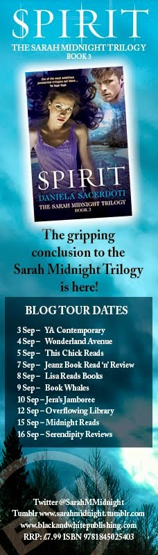 Sarah Midnight Blog Tour