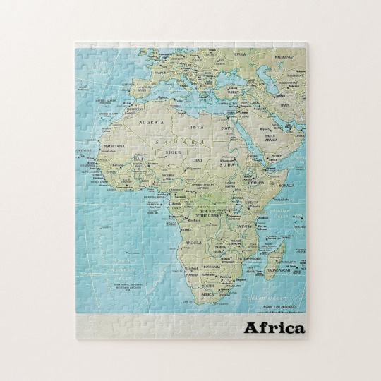 African Jigsaw Puzzle
