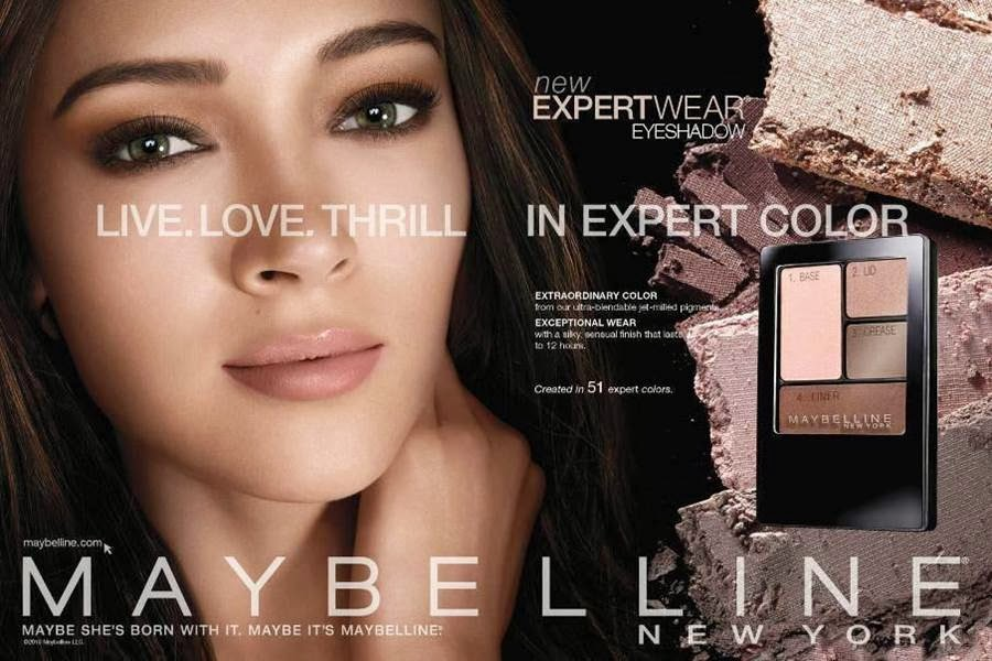 Bridal Makeup Tutorial By Maybelline New York : Maybelline ExpertWear Eyeshadow Campaign 2014 featuring ...