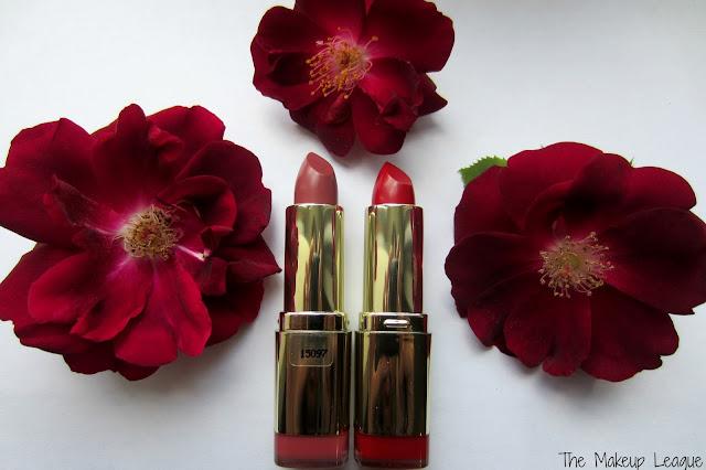 Milani Color Statement Best Red &  Pretty Natural Lipsticks
